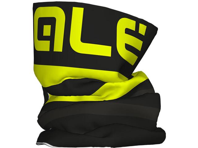 Alé Cycling Piuma Pañuelo multiusos, black fluo yellow
